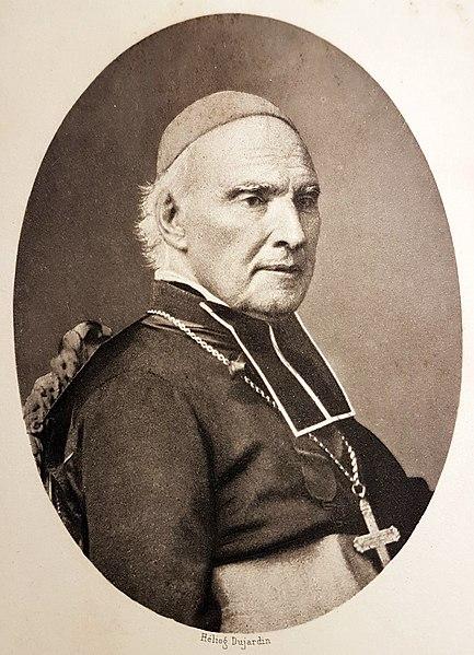 Portrait de Mgr Casimir Wicart, premier évêque de Laval