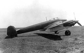 Mikoyan-Gurevich DIS 1941 fighter aircraft prototype by Mikoyan-Gurevich