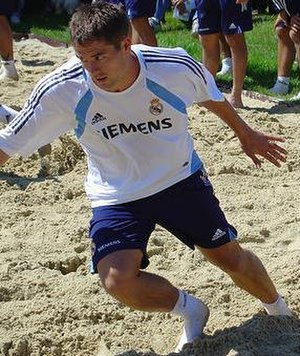 Michael Owen - Owen at a training camp with Real Madrid