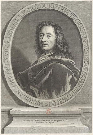 François and Michel Anguier - Michel Anguier, engraving by Laurent Cars