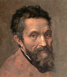 Michelangelo Italian sculptor, painter, architect and poet