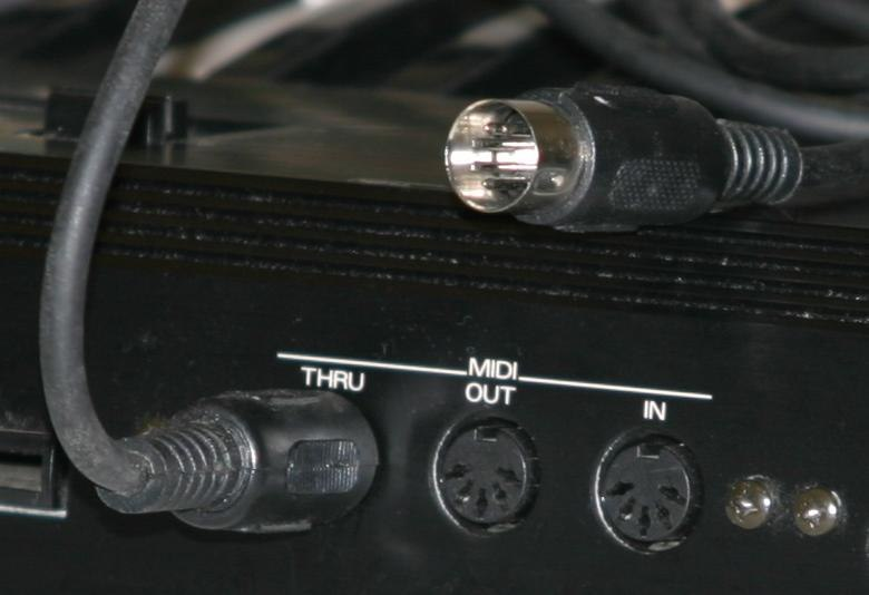 Midi ports and cable