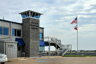 Mid-Way Regional Airport - Image: Midway regional airport tower