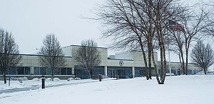 Oak Creek, Wisconsin - Former Midwest Airlines headquarters, now owned by Bucyrus International