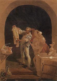 Bernard Palissy by Mihály Zichy