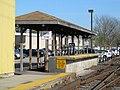 Mini-high platform at Stoughton station, April 2016.JPG