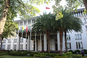 Foreign relations of Taiwan - Building of the Ministry for Foreign Affairs in Taipei.