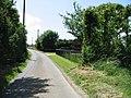 Minor road to Hawkinge - geograph.org.uk - 873002.jpg