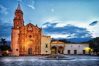 Jalpan de Serra Town in Querétaro, Mexico