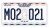 Missouri 2021 Bicentennial License Plate.png