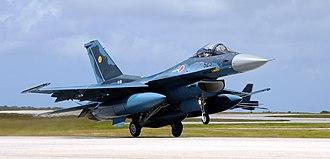 International rankings of Japan - Mitsubishi F-2 fighter jet