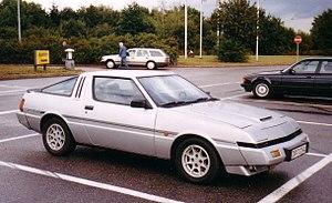 Mitsubishi Starion - A Mitsubishi Starion Turbo