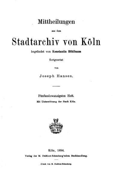 File:Mitteilungen aus dem Stadtarchiv von Köln 1894-25.djvu