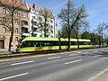 Moderus Gamma LF02 AC numer taborowy 603 linii 6 na ulicy Królowej Jadwigi w Poznaniu jedzie w kierunku Junikowa - maj 2021.jpg