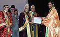 Mohd. Hamid Ansari presenting medals, at the fourth Convocation of Shri Mata Vaishno Devi University, at Katra, in Jammu and Kashmir. The Governor of Jammu & Kashmir.jpg