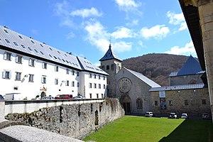 Roncesvalles - Image: Monastère de Ronceveau 2