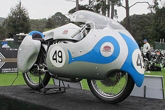 Mondial (motorcycle manufacturer) - 1957 Mondial 250 Grand Prix racing motorcycle