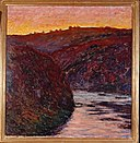 Monet - Valley of the Creuse (Sunset), 1889.jpg