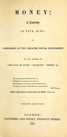 Money by Lytton, 4th edition title page.jpg