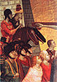 Mongol horseman in the Crucifixion of Saint Peter Giotto circa 1299.jpg