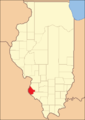 Monroe County between 1825 and 1827