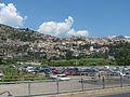 Monte San Biagio, Panorama von Bahnhof aus gesehen.jpg