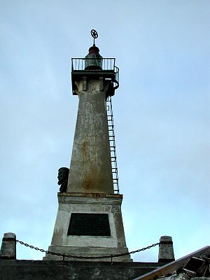 Cape Dezhnev - Image: Monument to Semyon Dezhnev, Cape Dezhnev