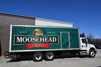 Moosehead Breweries - Moosehead truck