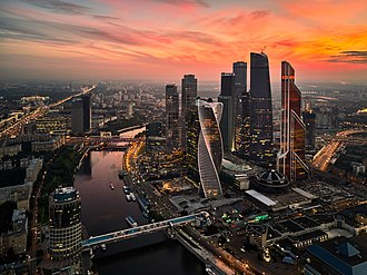 Moscow International Business Center - Image: Moscow City (36211143494)