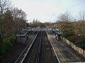 Mottingham station high westbound from road bridge.JPG