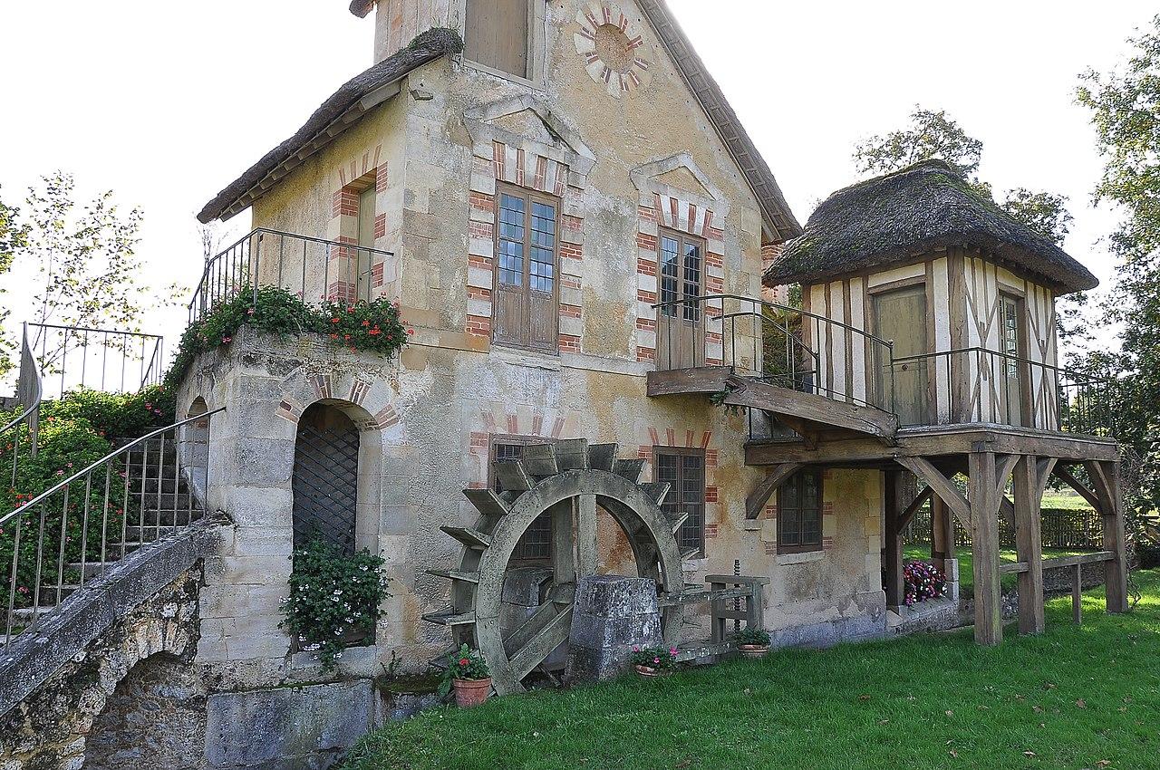 File:Moulin du hameau de la Reine, Versailles 001.JPG ...
