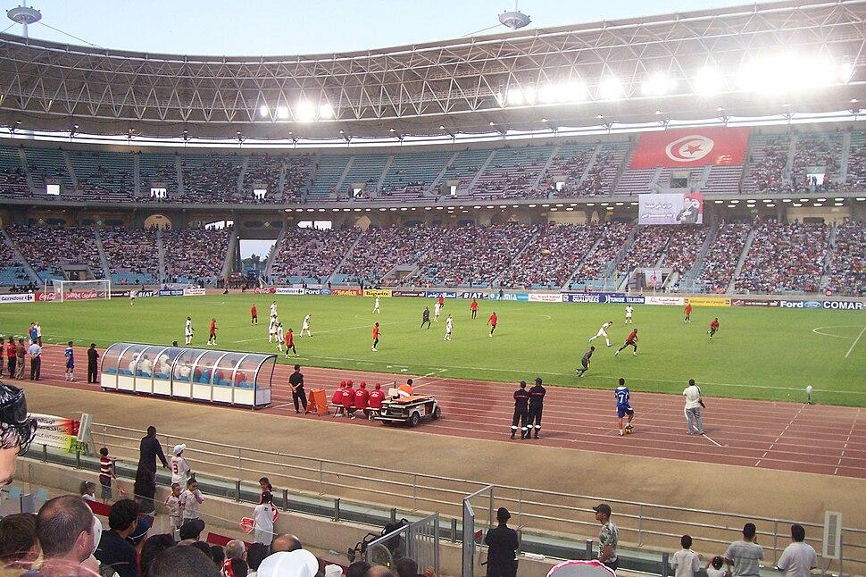 Mozambique-Tunisia match 2009
