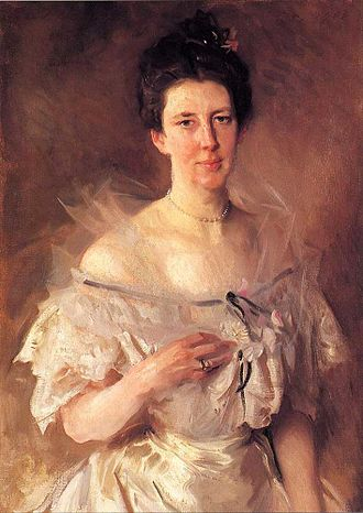 Shalawa Meadow, California - Mrs. Gardiner Green Hammond (Esther Fiske Hammond), John Singer Sargent, 1903