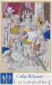 Ms764-folio34recto - Liber Tertius Caesaris - La Vengeance de César contre le Sénat de Vannes.png