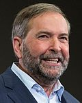 Thomas Mulcair, leader of the NDP