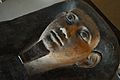 Mummy-mask - Egyptian Human Mummy - Egyptian Gallery - Indian Museum - Kolkata 2014-04-04 4424.JPG