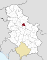 Municipalities of Serbia Smederevo.png