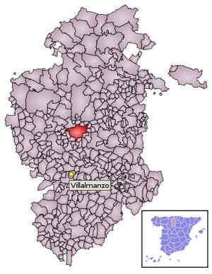 Localización de Villalmanzo