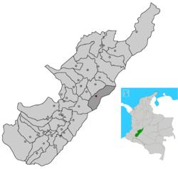 Municipio de Algeciras, Huila, Colombia (wiki)
