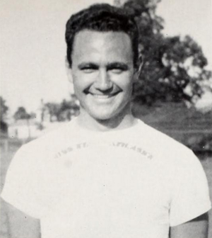 Murray Warmath - Warmath pictured in Reveille 1942, Mississippi State yearbook