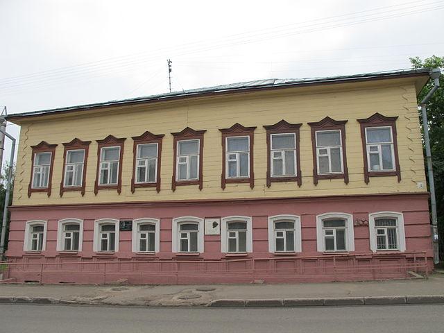 Музей К.Э.Циолковского, авиации и космонавтики в Кирове. Здесь Циолковский жил в 1873—1878 годах