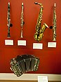 Musical instruments on display at the MIM (14328665776).jpg