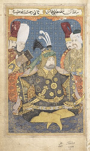 Saliha Sultan (wife of Mustafa II) - Image: Mustafa II dressed in full armour