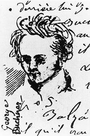 Georg Büchner - Georg Büchner, drawing by Alexis Muston 1835