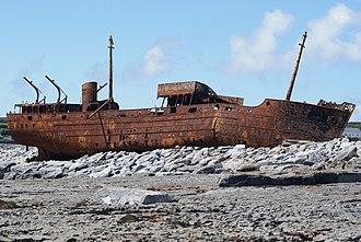 MV Plassy - Image: Mv Plassy Shipwreck, June 2010