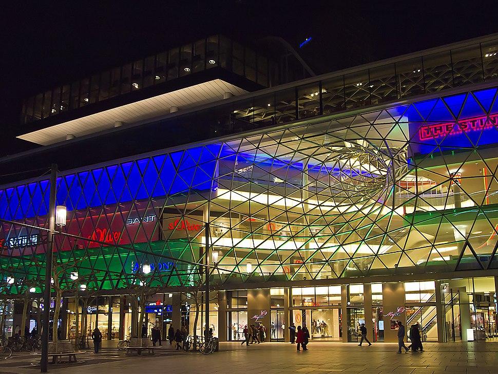 MyZeil Frankfurt Nacht