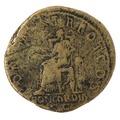 Mynt av koppar med Concordia, 117 - Skoklosters slott - 100177.tif