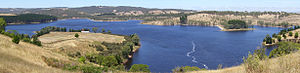 Myponga Reservoir - Image: Myponga panorama 1