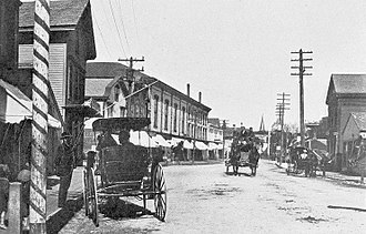 Mystic, Connecticut - Main Street (circa 1901)
