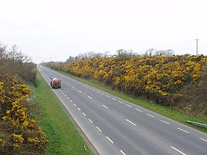 N25 Wexford bypass seen from overbridge - geograph.org.uk - 1300199.jpg